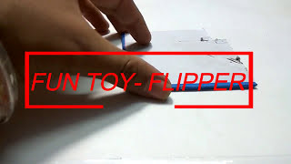 HOW TO MAKE A COOL FLIPPER EASILY FOR KIDS