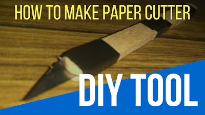 How to make a DIY Paper Cutter easily at home