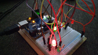 How to make Arduino Powered Traffic Lights