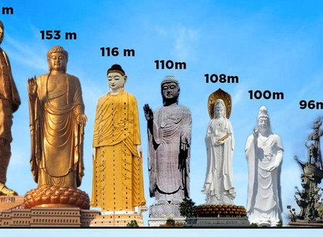 In List Of Tallest Statues In The World, India's Statue Of Unity Rises Head And Shoulders Above All