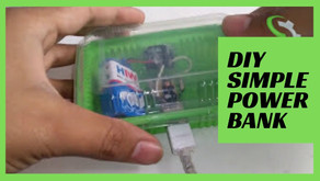 How to Make a Mobile Phone Charger    DIY Simple Power Bank