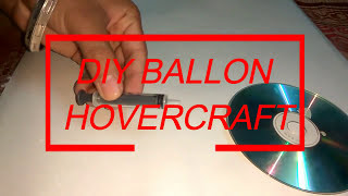 How to make Hovercraft with Balloon at home | DIY SCIENCE EXPERIMENT