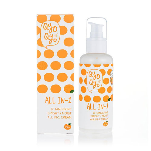 QYO QYO Tangerine Bright + Moist All in 1 Cream - 150ml