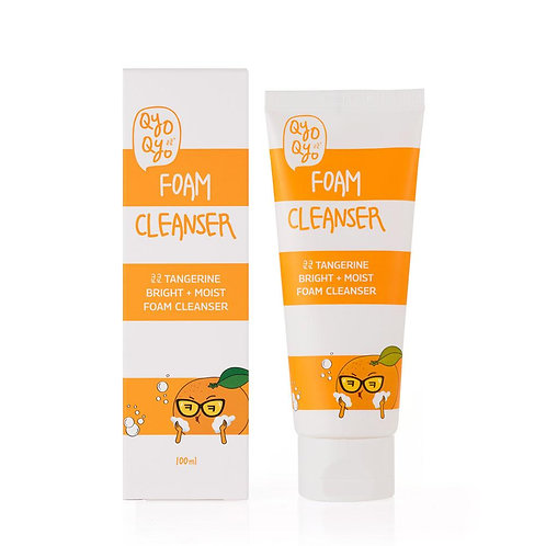 Tangerine Bright+Moist Foam Cleanser