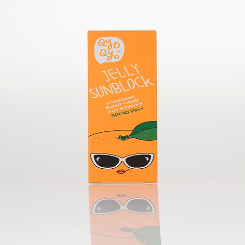 Qyo Qyo Tangerine Bright+Moist Jelly Type Sunblock SPF 40 PA++
