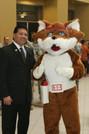 Red E Fox Meets the Mayor