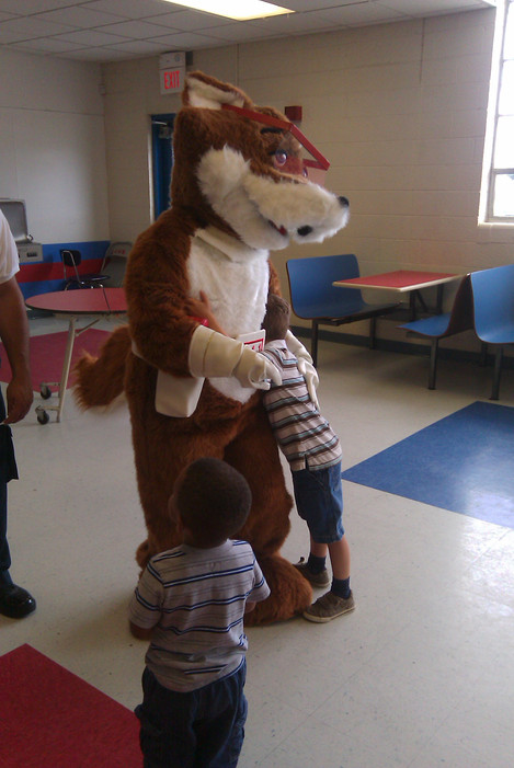Kids Love Red E Fox