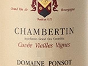 Chambertin Grand Cru Cuvée Vieilles Vignes rouge 2018 0,75L