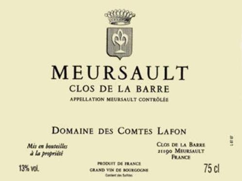 Meursault Clos de la Barre blanc 2017 0,75L