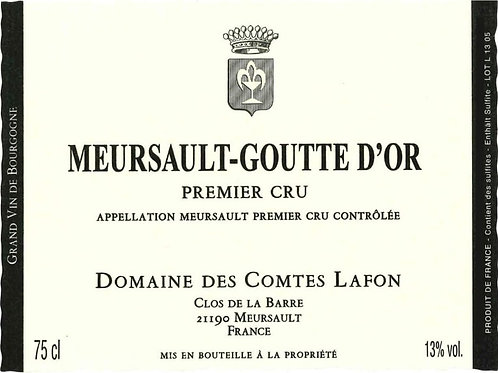 Meursault 1er Cru Goutte d'Or blanc 2017 0,75L
