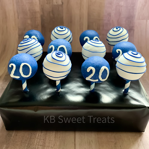 """20"" Cake Pops"