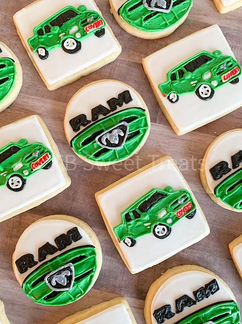 RAM Truck Cookies
