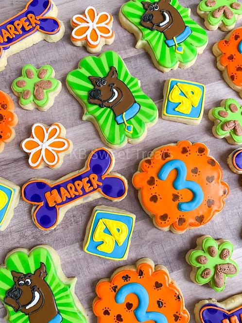 Scooby Doo Birthday Cookies