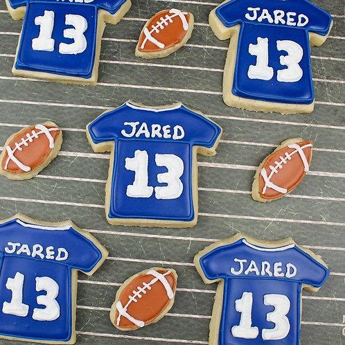 """Jared"" Jersey Cookies"