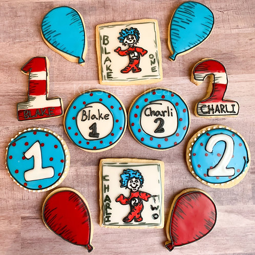Thing 1 Thing 2 Cookies