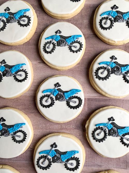 Dirt Bike Cookies
