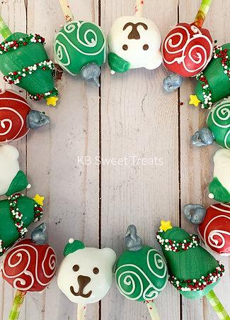 Assorted Christmas Cake Pops