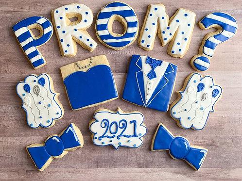 Promposal Cookies