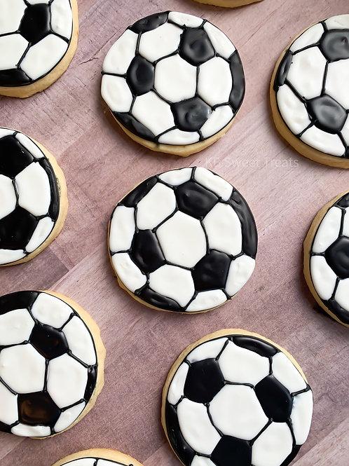 Soccerball Cookies