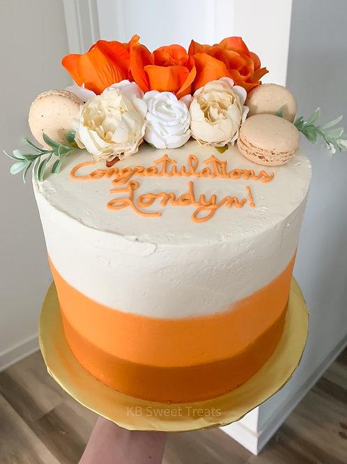 Floral UT Cake