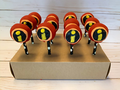 Incredibles Cake Pops