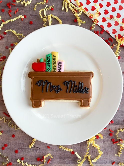 Personalized Desk Cookie
