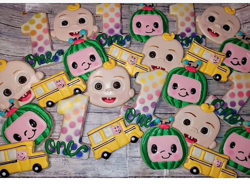 Tracy Cocomelon Cookies 8/14