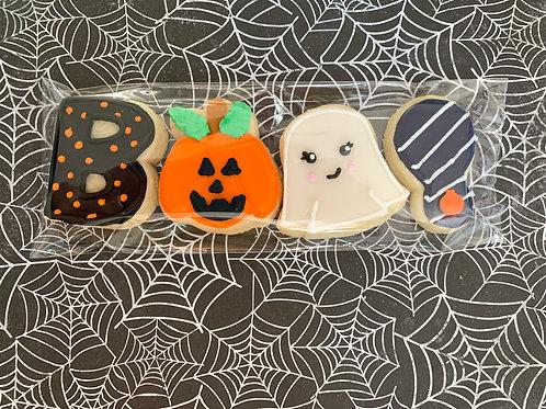 BOO! Mini Halloween Cookies