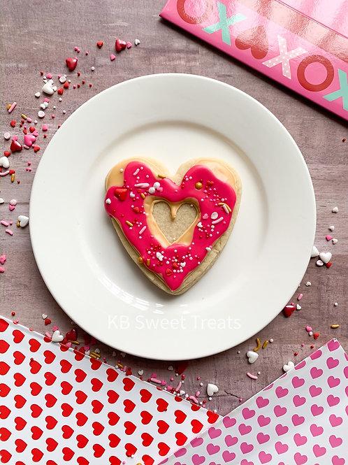 Heart Donut Cookies