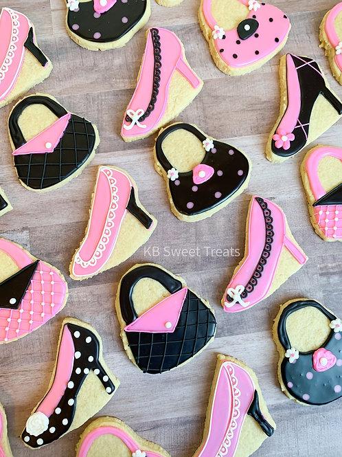 Heels & Purses Cookies