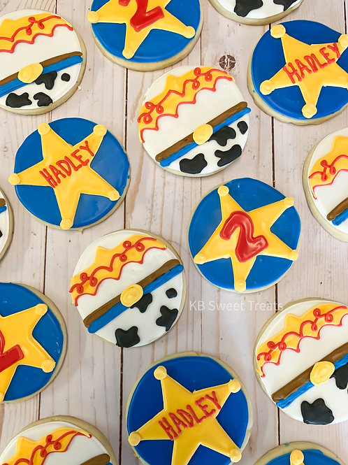 """""""Hadley"""" Jessie from Toy Story Cookies"""