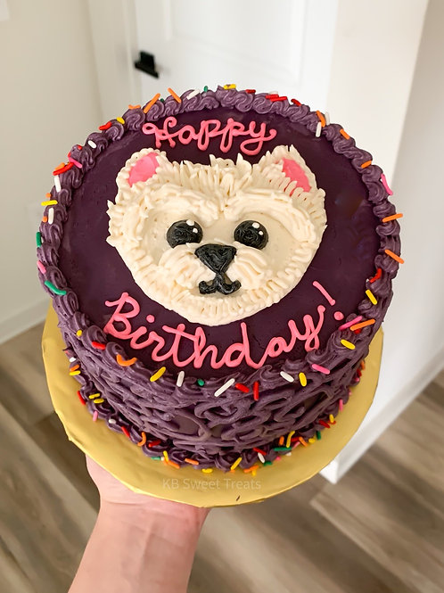 Shaggy Pup Cake