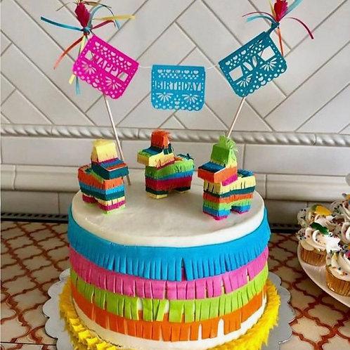 Amber Fiesta Cake/Cupcakes 6/19