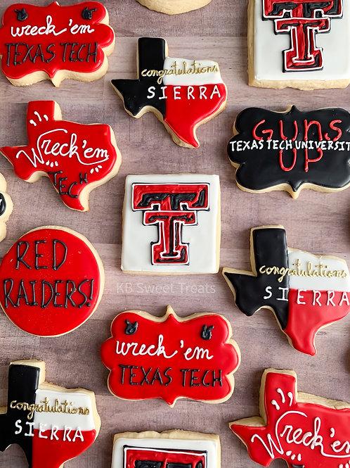Texas Tech Grad Cookies