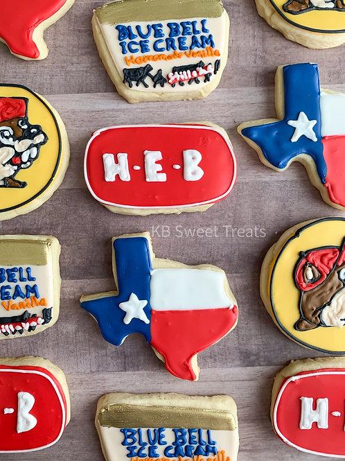 Texan Pride Cookies