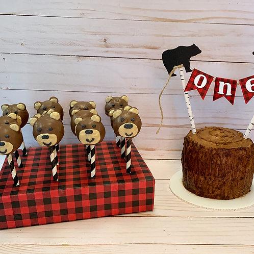 Baby Bear Cake Pops