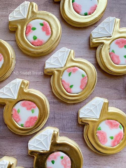 Floral Ring Cookies