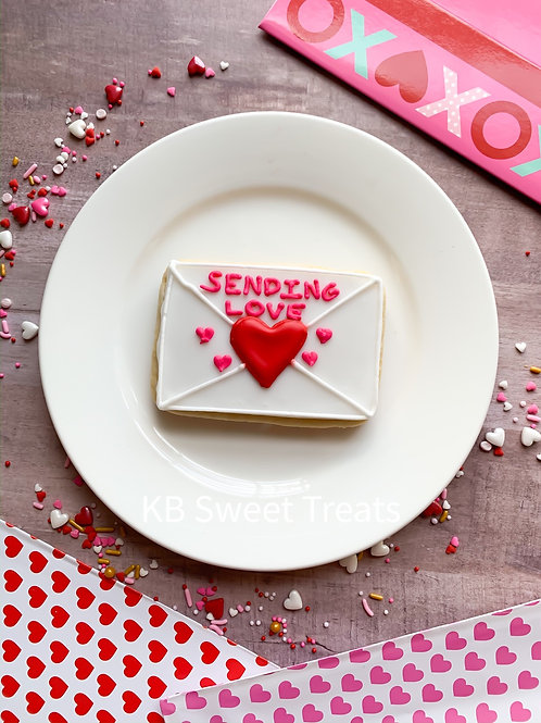 Sending Love Letter Cookie