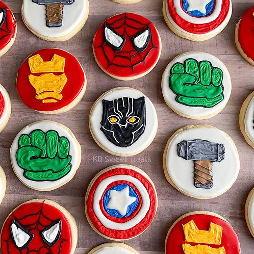 Avengers Cookies