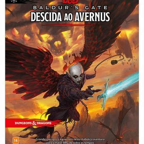D&D 5ª Edição - Baldur's Gate: Descida ao Avernus
