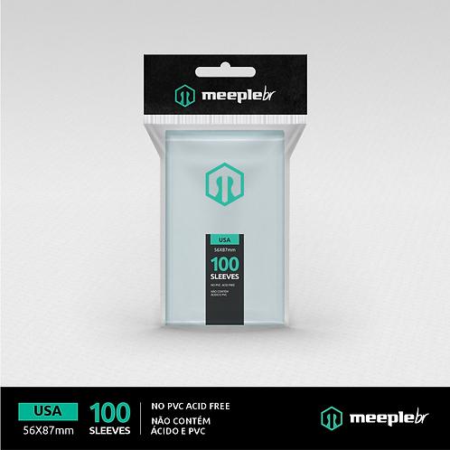 Sleeve Premium MeepleBR Padrão USA