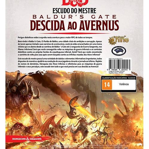 D&D 5ª Ed. - Baldur's Gate: Descida ao Avernus Escudo do Mestre