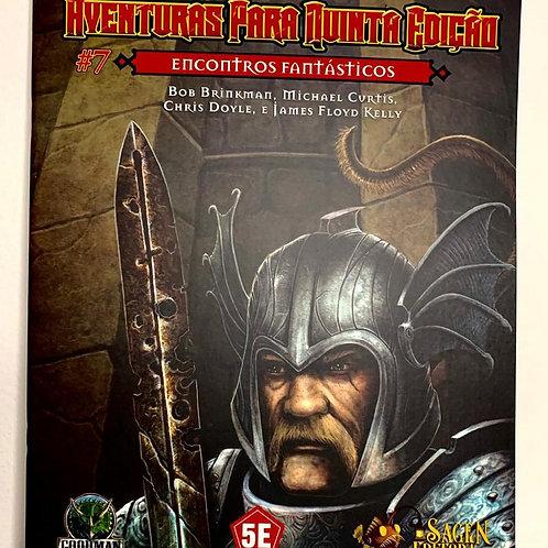 D&D Aventuras para a 5ª Edição - Encontros fantásticos