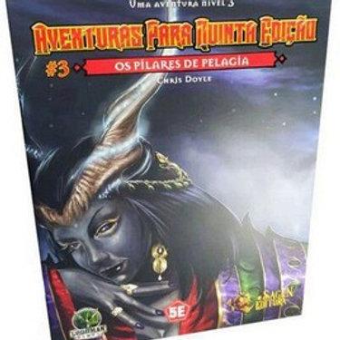 D&D Aventuras para a 5ª Edição - Os pilares de Pelagia