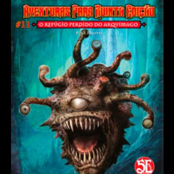 D&D Aventuras para a 5ª Edição - O refúgio perdido do arquimago
