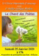 Impromptu - Flyer concert 25-01-2020 - P