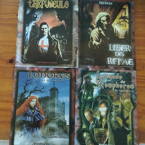 Kit livros de RPG Crepúsculo