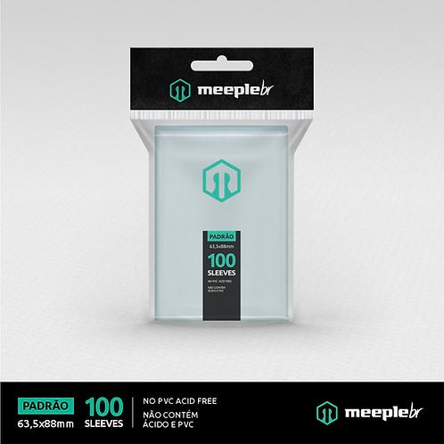 Sleeve Premium MeepleBR Padrão