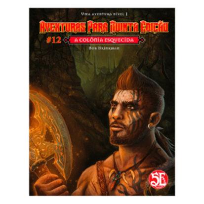 D&D Aventuras para a 5ª Edição - A colônia esquecida