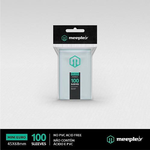 Sleeve Premium MeepleBR Mini Euro